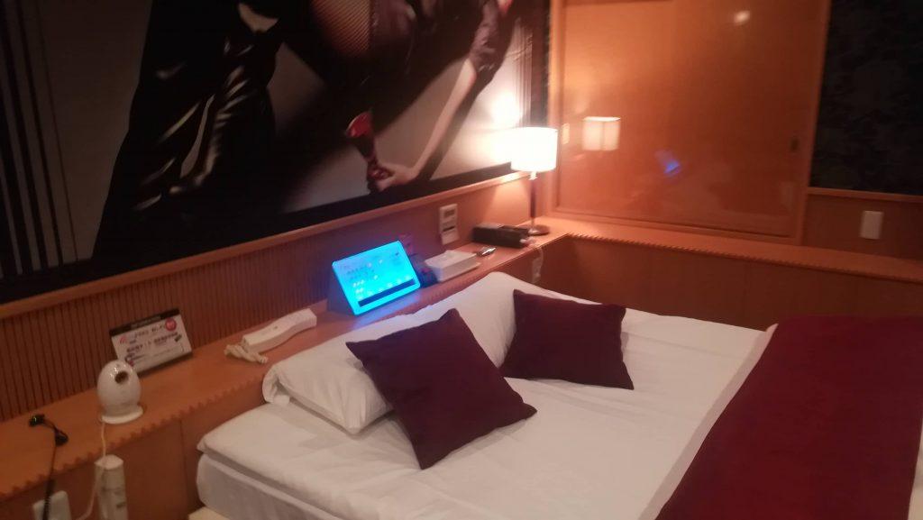福岡のラブホテルジェシーの室内